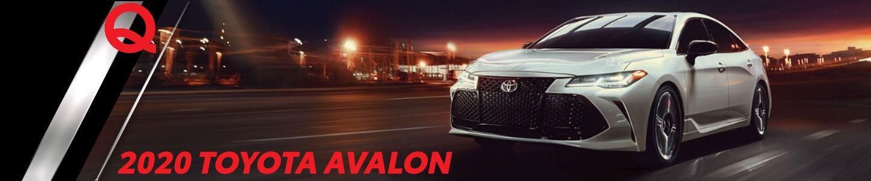 2020 Toyota Avalon Sedan Now Available in Fergus Falls, Minnesota