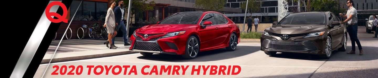 2020 Toyota Camry Hybrid in Fergus Falls, MN, at Quality Toyota