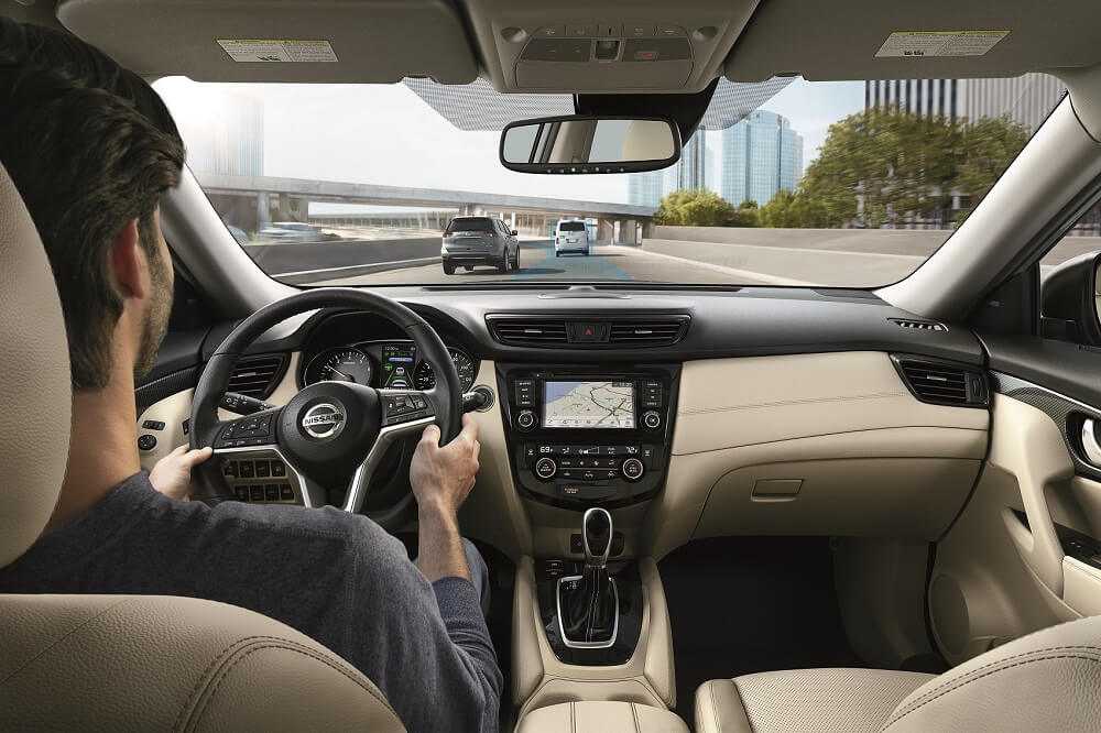2020 Nissan Rogue Interior Space