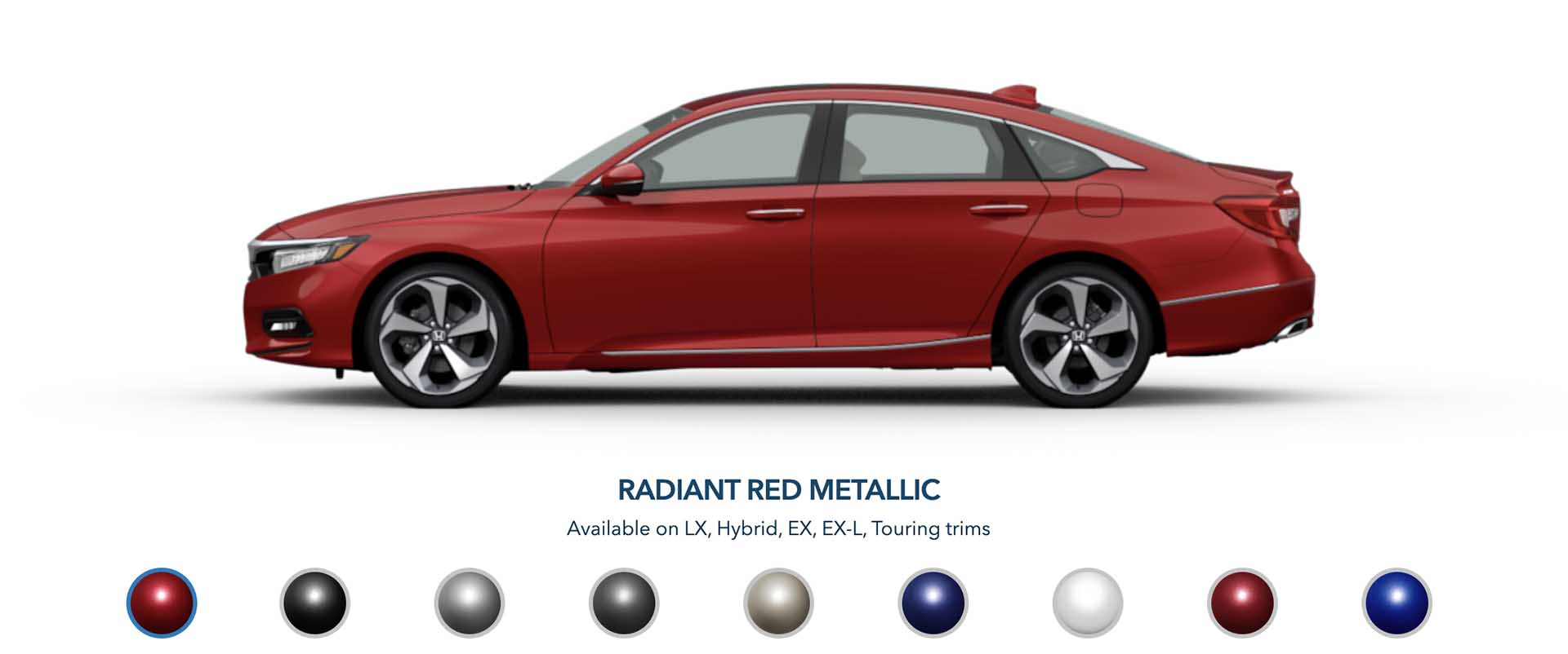 Honda Accord Colors
