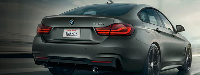 2020 BMW 4series Drive Safely