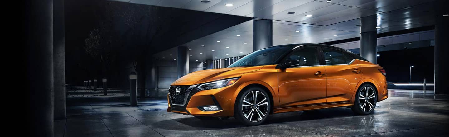 Exterior of the 2020 Nissan Sentra Coming Soon