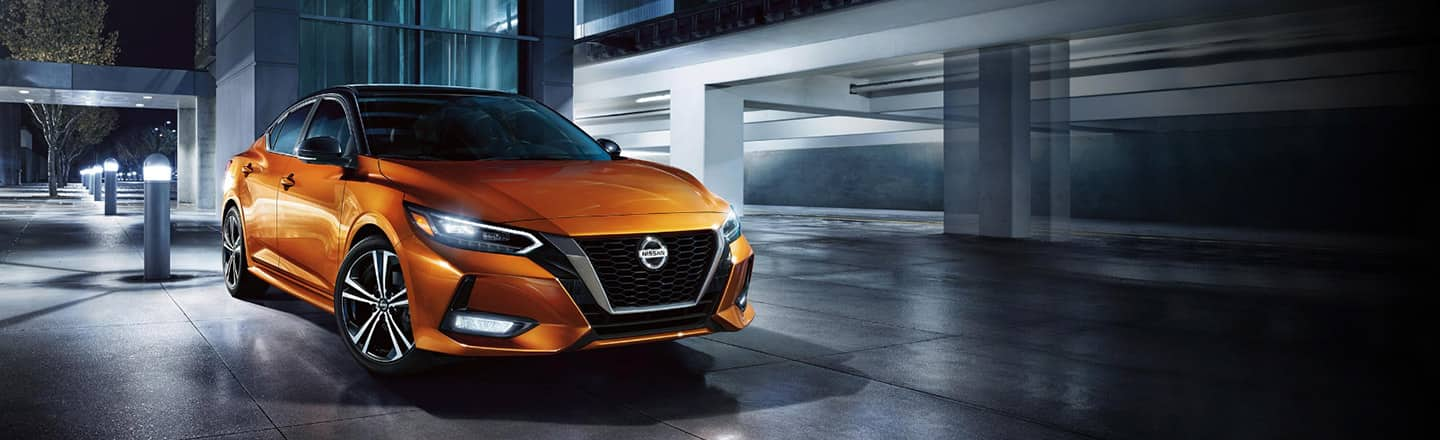 Exterior view of the 2020 Nissan Sentra coming soon