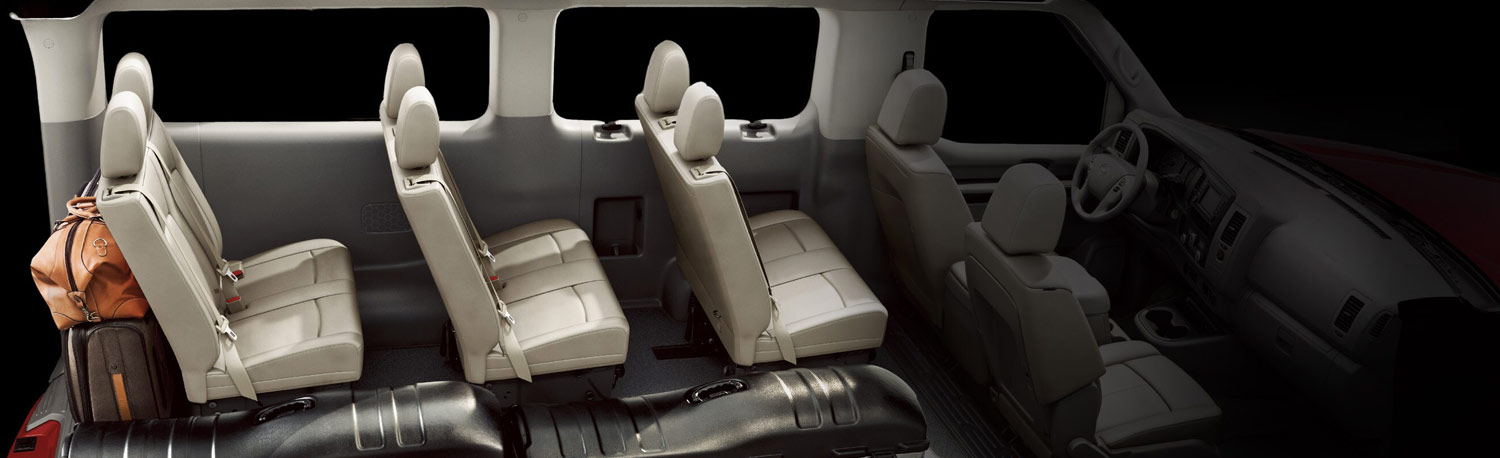2020 Nissan NV Passenger Vans Interior in Hoover, Alabama, near Birmingham