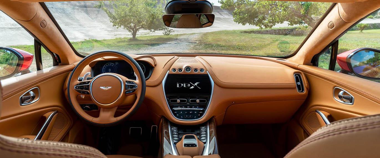dbx interior view
