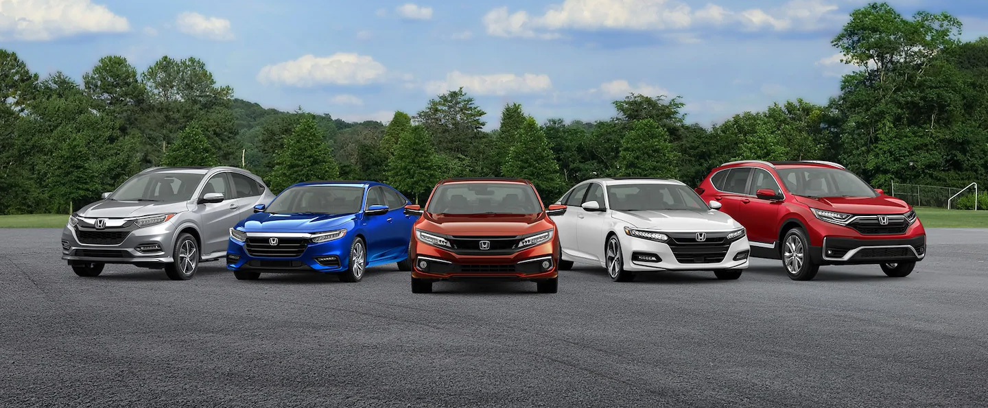Honda vehicles comparisons