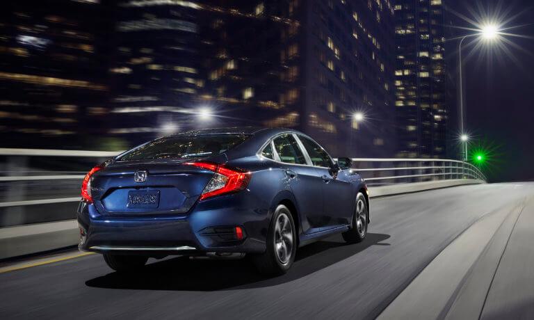 2020 Honda Civic driving