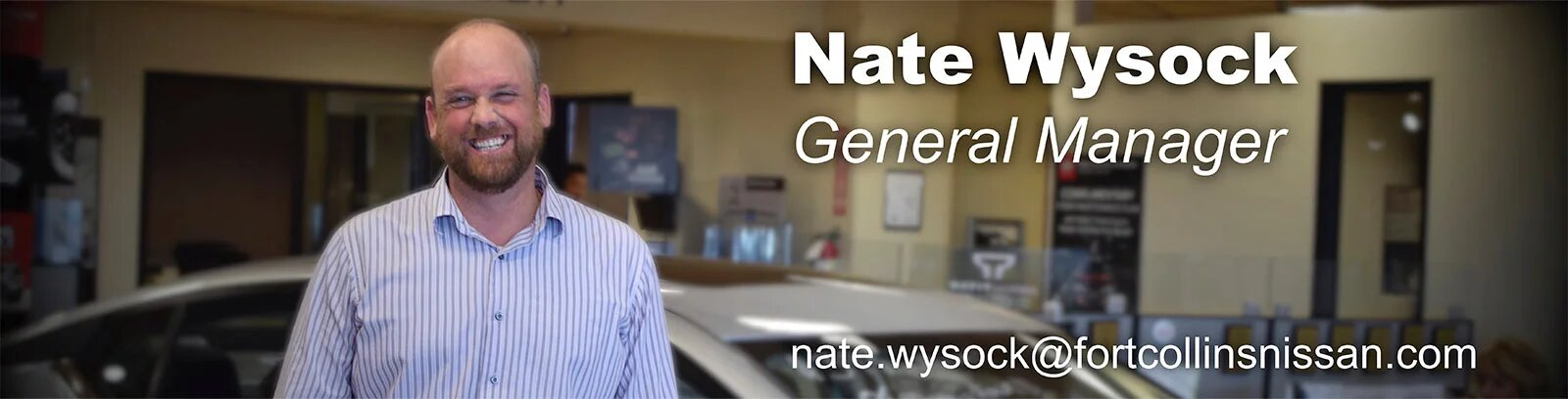 General Manager Nate Wysock
