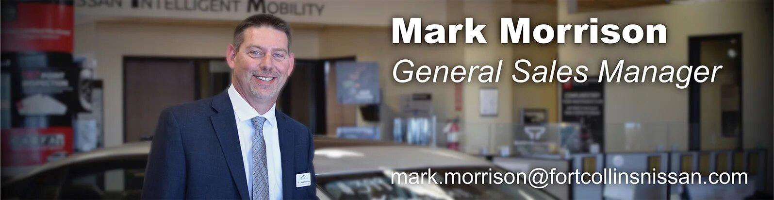 General Sales Manager Mark Morrison