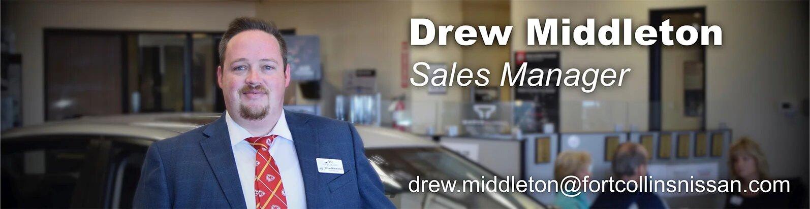 Sales Manager Drew Middleton
