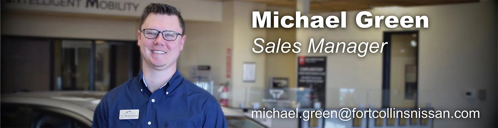 Sales Manager Michael Green