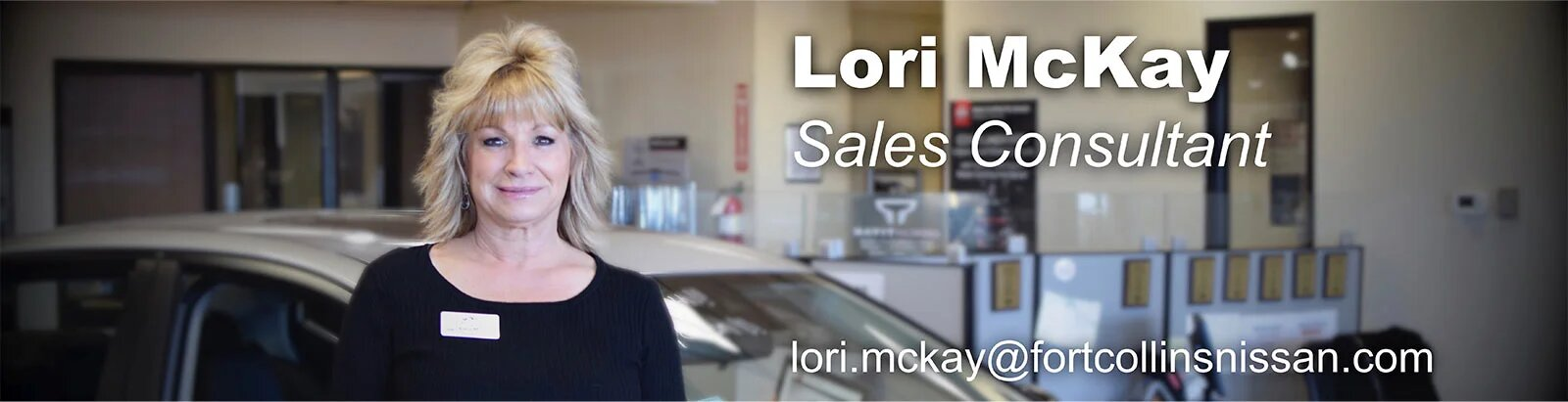 Sales Consultant Lori McKay