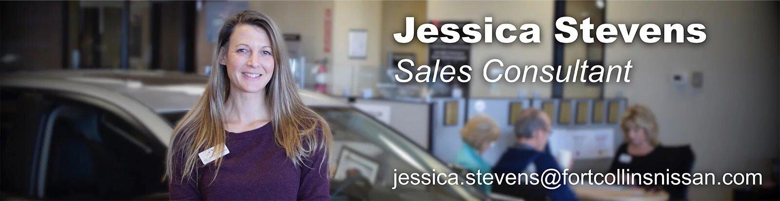 Sales Consultant Jessica Stevens
