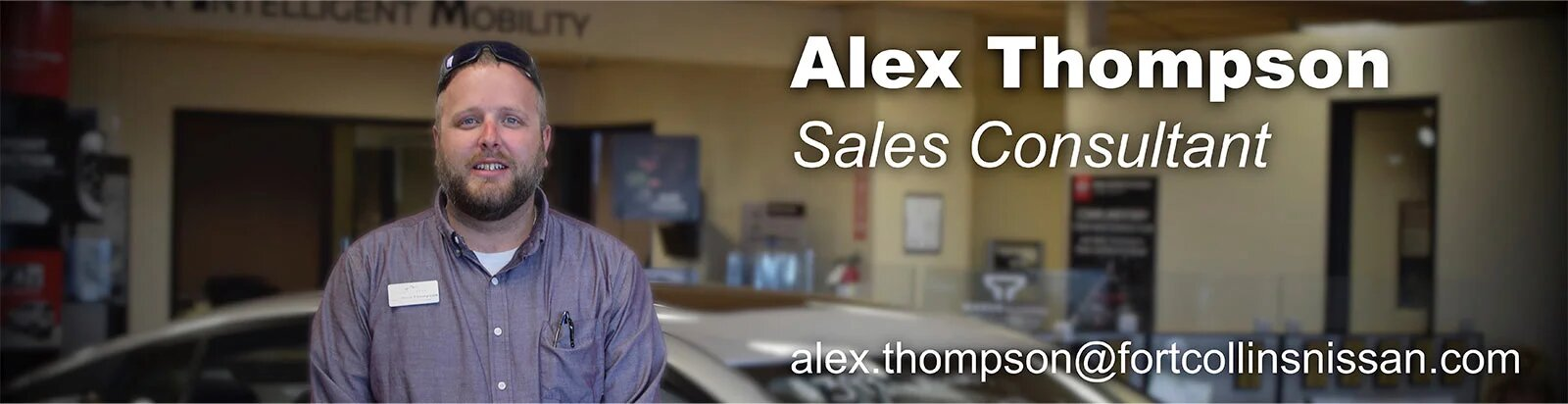 Sales Consultant Alex Thompson