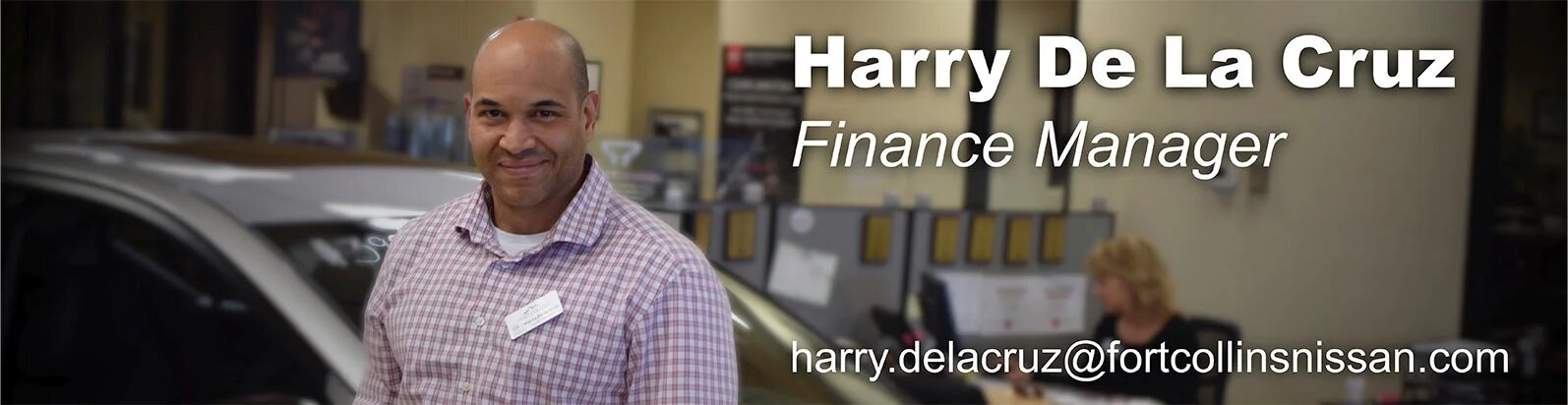 Finance Manager Harry De La Cruz