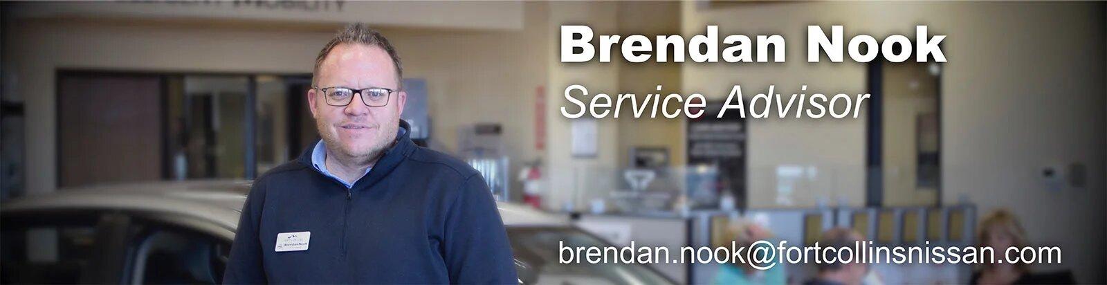 Service Advisor Brendan Nook