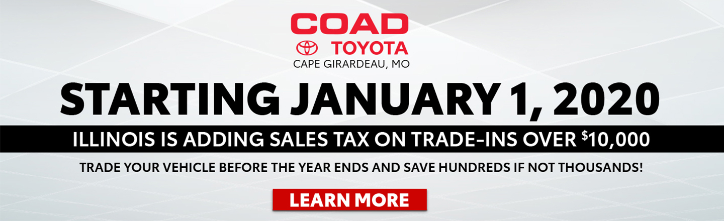 Jan 1, 2020 New Illinois Tax Law On Trade In Vehicles