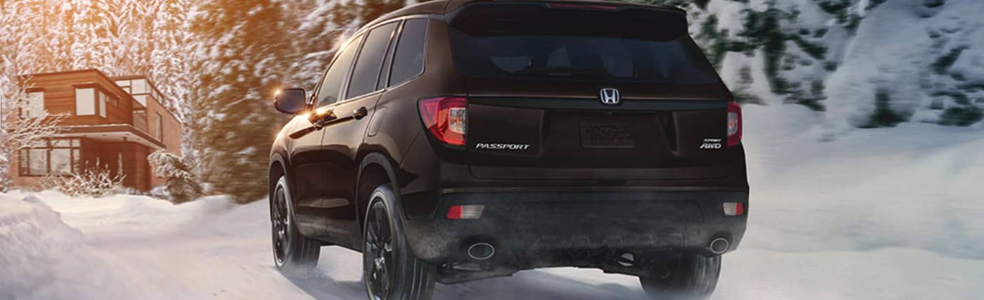 Exterior of the 2020 Honda Passport - available at our Honda dealership near Fort Myers, FL.