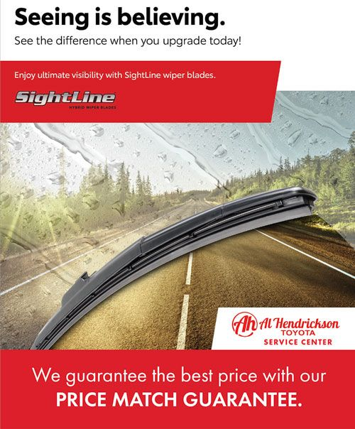 Price Match Guarantee Toyota Sightline Wipers