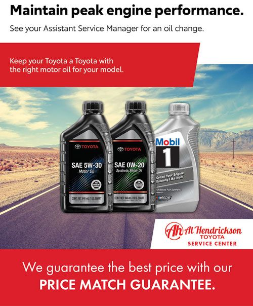 Price Match Guarantee oil