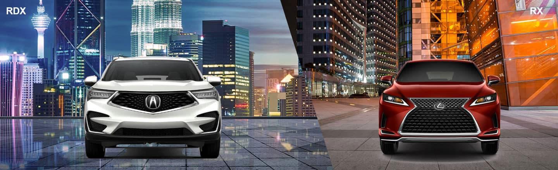 Compare The 2020 Acura RDX & 2020 Lexus RX 350 Near Yardley, PA