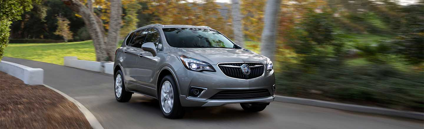 Step Up to the 2020 Buick Envision SUV in Fort Madison, IA