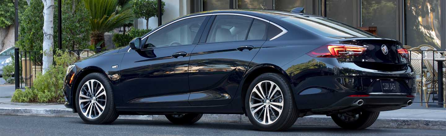 Step Up to a 2020 Buick Regal Sportback in Fort Madison, IA