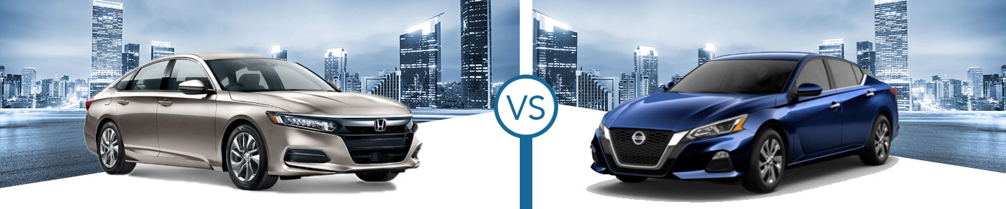 2020 Honda Accord vs. 2020 Nissan Altima in Westerville, OH