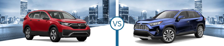 2020 Honda CR-V vs. 2020 Toyota RAV4 in Westerville, OH