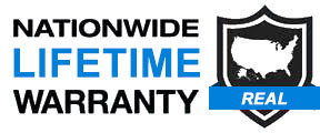 Nationawide Lifetime Warranty Logo