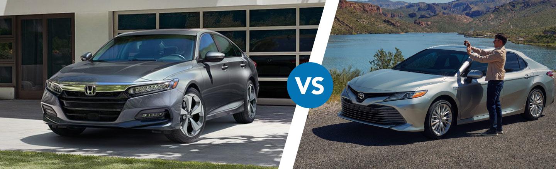 Comparing The Honda Accord Vs. The Toyota Camry In Cocoa, FL