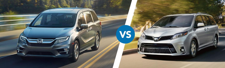 Comparing The 2020 Honda Odyssey Vs. The Toyota Sienna In Cocoa, FL
