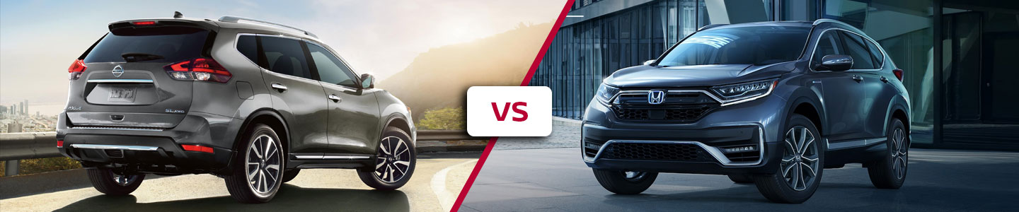 Premier Nissan of Fremont 2020 Nissan Rogue Vs CR-V