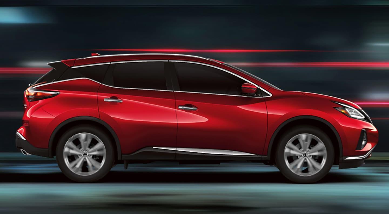 Red 2020 Nissan Murano