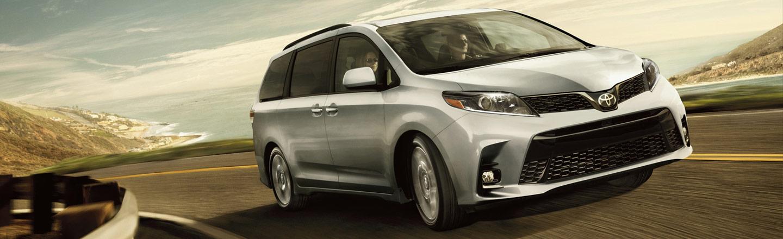 2020 Toyota Sienna Minivan in Odessa, Texas, near Midland