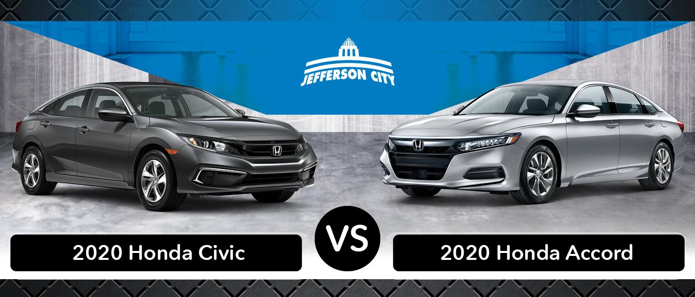 2020 honda civic vs 2020 honda accord a honda sedan comparison 2020 honda civic vs 2020 honda accord