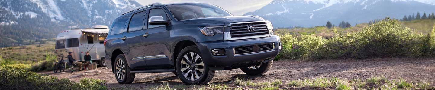 Drive the 2020 Toyota Sequoia At Team One Toyota