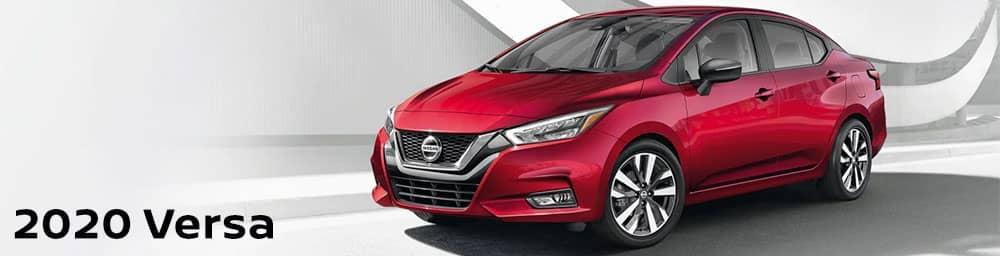All-New 2020 Nissan Versa in Pompano Beach, FL, at Performance Nissan