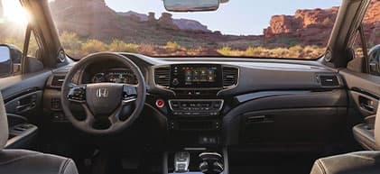 2020 Honda Passport Interior
