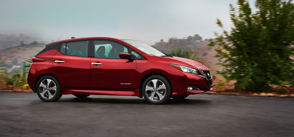 all new nissan leaf