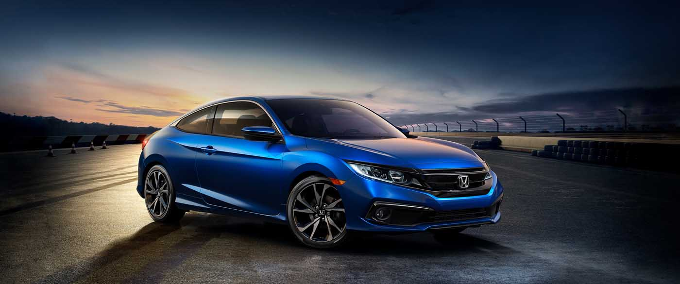 Secure a 2020 Honda Civic Coupe With Help From Our Dealer in Hillside, NJ