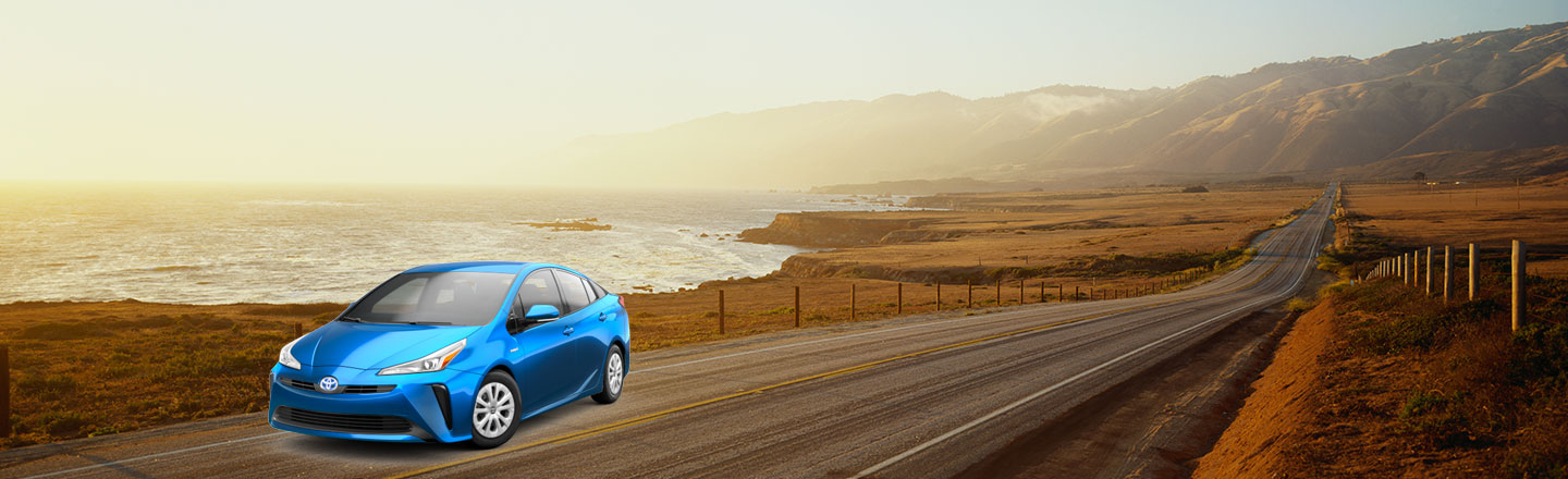 2020 prius On Road