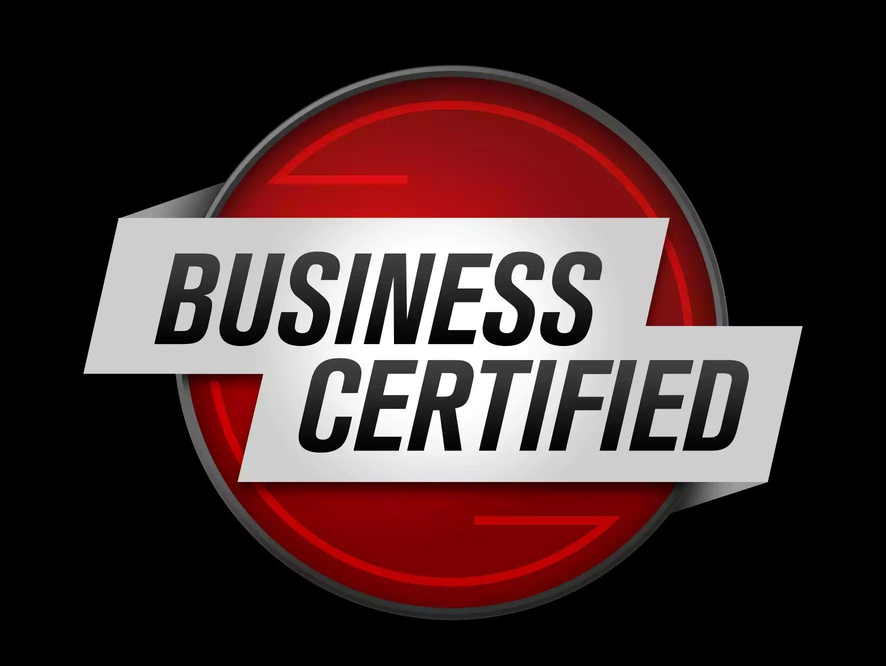 business certfied