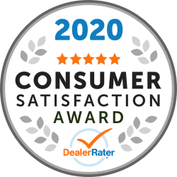 Lakeside Toyota Winner of the 2020 Consumer Satisfaction Award