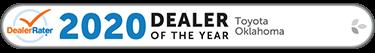 2020 Dealer Rater