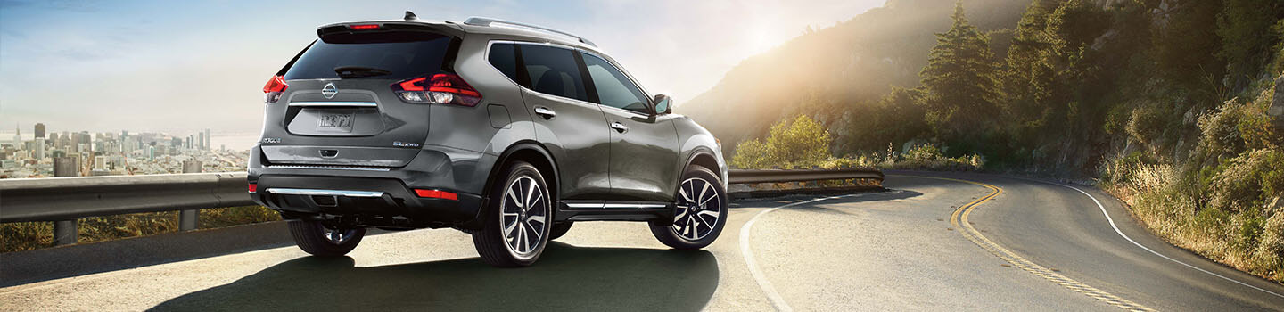 2018 Nissan Rogue On the Street