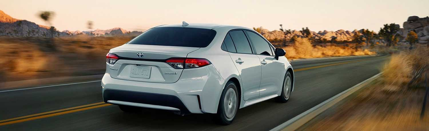 Introducing The New 2020 Toyota Corolla Hybrid In Waycross, Georgia