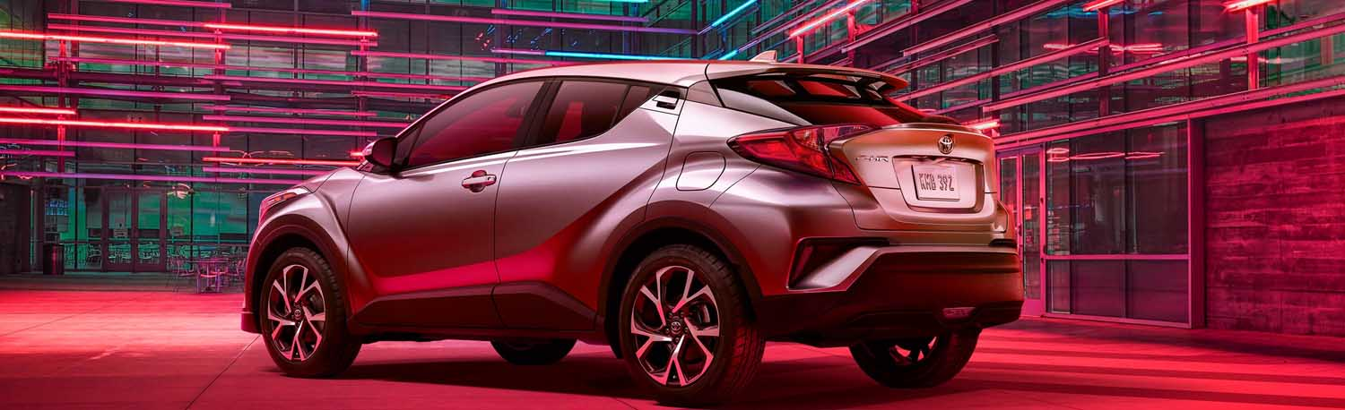 Explore The Features Found On The Toyota C-HR Crossover In Waycross!