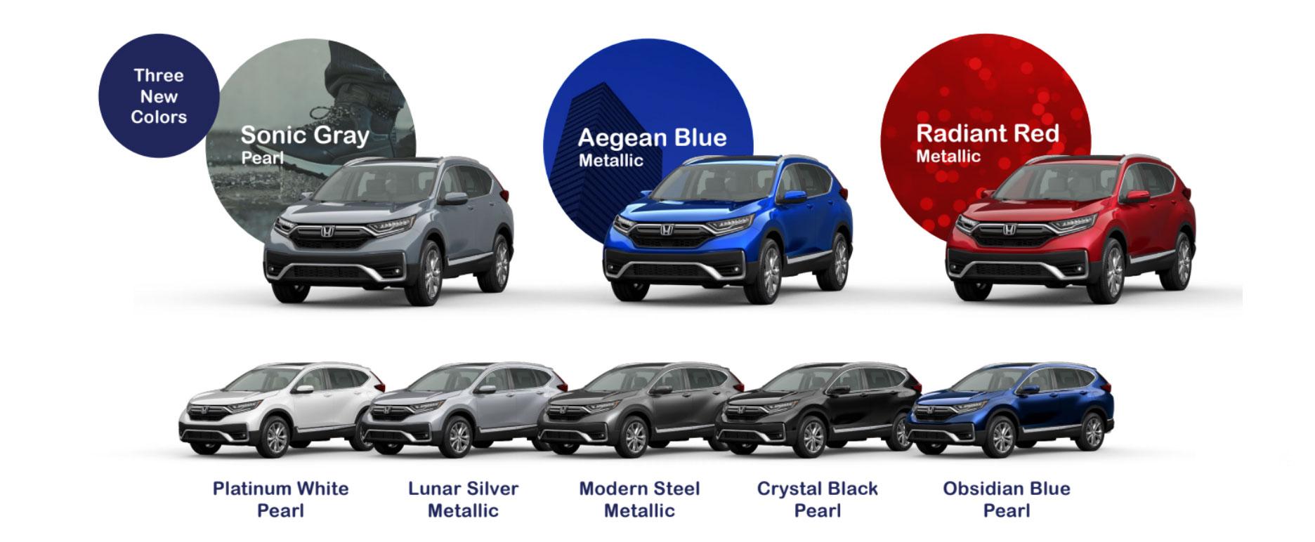 2020 Honda CR-V Colors
