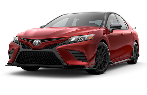 2020 red Toyota Camry